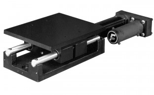 Rugged, heavy duty sensor positioner for chasing applications